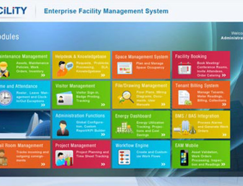 2012 New Upgrades to our flagship product eFACiLiTY – Facility Management System