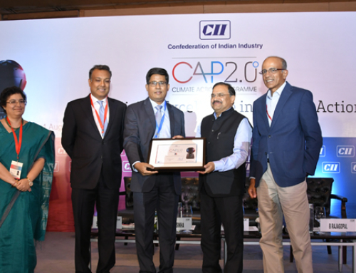 SIERRA wins National Award for CAP 2.0° Commitment at the Climate Leadership Conference organized by CII