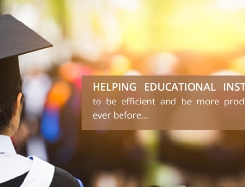 Helping Educational Institutions to be efficient and be more productive than ever before