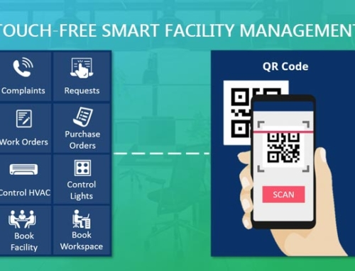Make your workplace Smart & Touch-free to battle COVID-19 with eFACiLiTY®